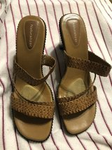 BROWN SANDALS NATURALIZER in Houston, Texas