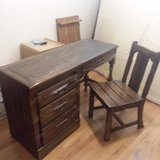 1950-1960s desk and chair in Alamogordo, New Mexico