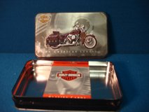 HARLEY DAVIDSON TIN/ NEW DECK OF CARDS in Yorkville, Illinois