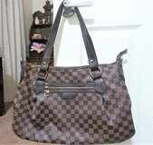 Louis Vuitton Damier Ebene Tote Purse ( replica) in Conroe, Texas