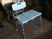 Shower Transfer Bench.   Like New in Travis AFB, California
