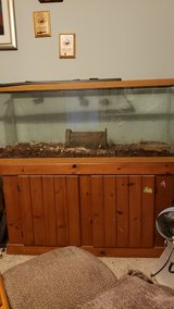 Reptile tank with stand in Camp Lejeune, North Carolina