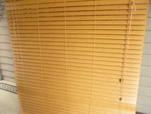 Blinds Brown Faux Wood in Chicago, Illinois