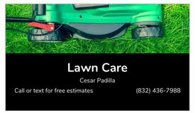 lawn care in The Woodlands, Texas