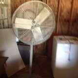 fan on stand in Fort Polk, Louisiana