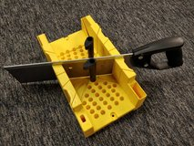 Stanley mitre box with cutting saw WILL SHIP in Westmont, Illinois