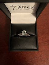 10k white gold bridal set in Clarksville, Tennessee