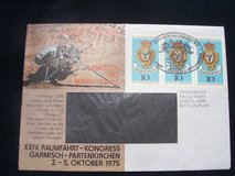 Three Commemorative stamps from Germany (1976) in Stuttgart, GE