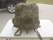 US Military Field Pack LC-1 Combat Rucksack Alice Backpack Metal Frame in Byron, Georgia