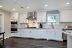 SAVE THE $$ AND TIME BUY WOOD PREFAB CABINETS in The Woodlands, Texas