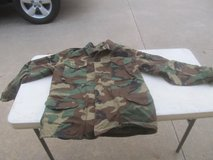 Military Woodland Camo Field Jacket in Byron, Georgia