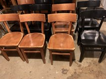 7 solid wood  chairs in Fort Campbell, Kentucky