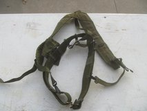 Military Pistol Belt & Y Suspenders Set in Byron, Georgia