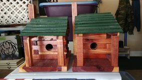Custom Made Ceder Bluebird House (Each) in Byron, Georgia