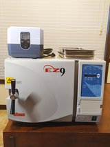 Tuttnauer EZ9 Fully Automatic Tabletop Autoclave Sterilizer & 1200H Ultrasonic Cleaner - Medical... in Fort Campbell, Kentucky