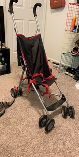 red and black stroller! in Fort Campbell, Kentucky