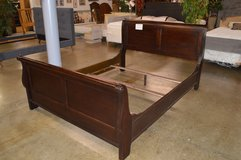 Queen Sleigh Bed Frame in Tacoma, Washington