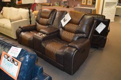 Steve Silver  Power Reclining Love seat with center console in Tacoma, Washington