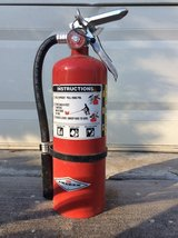 Fire extinguisher in Houston, Texas