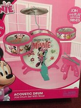 Minnie acoustic drum set new in Naperville, Illinois