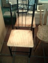 Metal Chair with cloth seat in Alamogordo, New Mexico