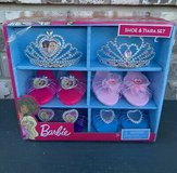 Barbie Shoe & Tiara Dress up Set Includes 2 Crowns and 4 Pairs of Shoes in Naperville, Illinois