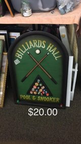 Billard Sign in Fort Leonard Wood, Missouri