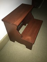 Cherry Step Stool in St. Charles, Illinois