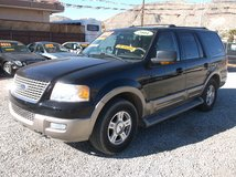 """2004 FORD EXPEDITION EDDIE BAUER 4X4 """"LOW MILES FULLY LOADED LEATHER"""" ....$4995 in 29 Palms, California"""