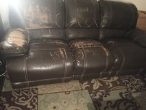 Free Brown Couch in Ramstein, Germany
