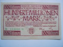 100 M. German Emergency Money (Notgeldschein) in Stuttgart, GE