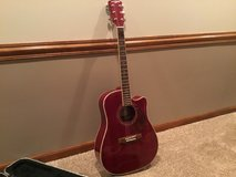 Acoustic guitar with case in Westmont, Illinois
