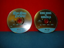 TWO BLU RAY KING KONG DISCS in Yorkville, Illinois