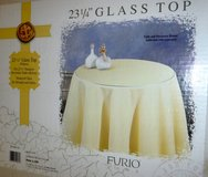 """New! Furio 23-1/4"""" Glass Top for round Decorator Table in Orland Park, Illinois"""