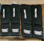 Combat Sports Washable MMA Training Instep Padded Shin Guards in Fairfield, California