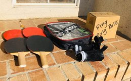 Ping pong paddle set and extras in Fairfield, California