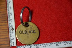 Old Vic (1986–2011) was a Thoroughbred racehorse this is a bridle tag in Lakenheath, UK