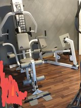 KEYS FITNESS PS1800 HOME GYM WITH LEG PRESS &BENCH in Ramstein, Germany