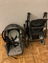 Infant car seat with stroller in Wiesbaden, GE