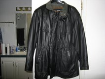 Men's Leather Jacket with Thinsulate Zipout Liner in Livingston, Texas