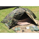 one person tent (woodland camouflage) in Fort Polk, Louisiana