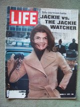 1972 LIFE Magazine (Feature Article: Jackie Kennedy) in Stuttgart, GE