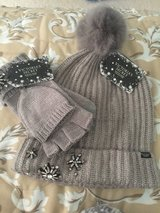 Hat and glove set by Victoria secret in Yorkville, Illinois