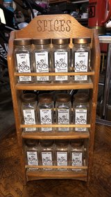 vintage spice rack in Naperville, Illinois