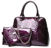 ***BRAND NEW***Three Piece Patent Leather Handbag*** in The Woodlands, Texas