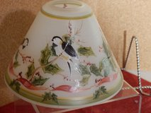 Bird and Holly Candle Shade in Aurora, Illinois