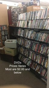 DVDs    (Most are $2.00 and under) in Fort Leonard Wood, Missouri