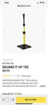 Easton Square It Up Tee in Travis AFB, California