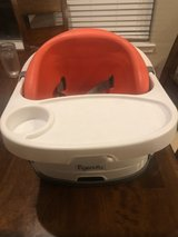 Ingenuity Baby Base 2-in-1 Seat - Poppy Red - Booster Feeding Seat in The Woodlands, Texas