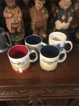 4x collectible Starbucks mugs in Ramstein, Germany
